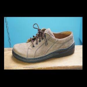 Birkenstock Footprints Suede Lace Up Shoe 39 8 8.5